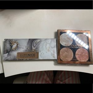 Catrice x make up revolution highlighter duo